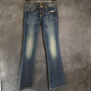 ANONAME | Distressed Bootcut Denim Jeans